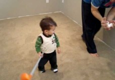 17 Month Old Golf Phenom