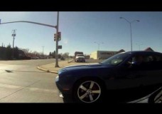 srt8 Challenger Gets Rear Ended