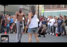 Union Square Park – Crazy Street Performers