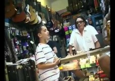 Little Boy Shocks a Guitar Store Owner with his Incredible Voice